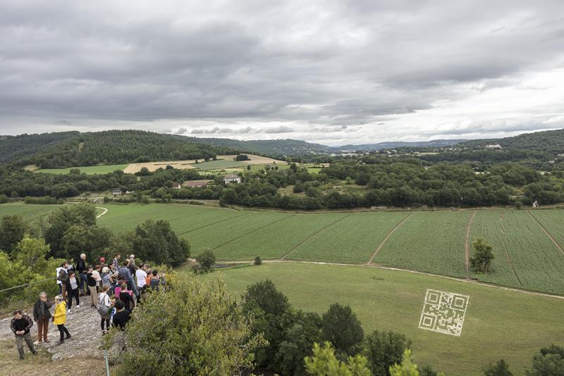 """""""CO-MUTATIONS"""" 12ème Parcours d'art contemporain en vallée du Lot, présenté par la Maison des Arts Georges et Claude Pompidou, du 2 juillet au 3 septembre 2017 www.magcp.fr (Photographie : Yohann Gozard ©)"""